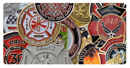 Order Custom Coins And Medallions | Fire Department