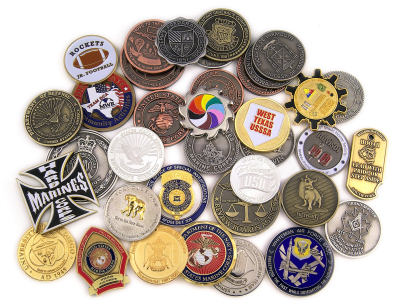 Custom Challenge Coins | Fire Department Challenge Coins